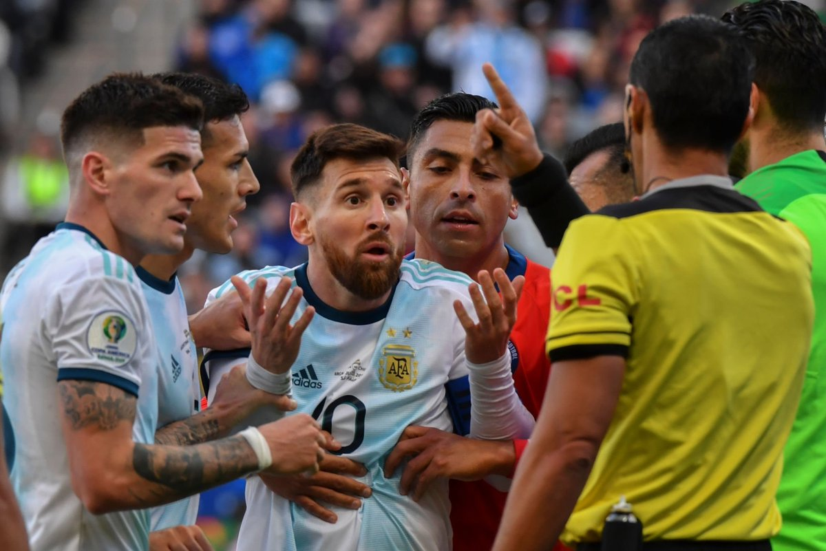 Lionel Messi slams CONMEBOL 'corruption' and refuses to pick up bronze medal