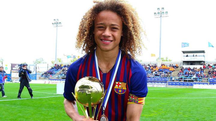 Highly rated Xavi Simons has left Barcelona as free agent