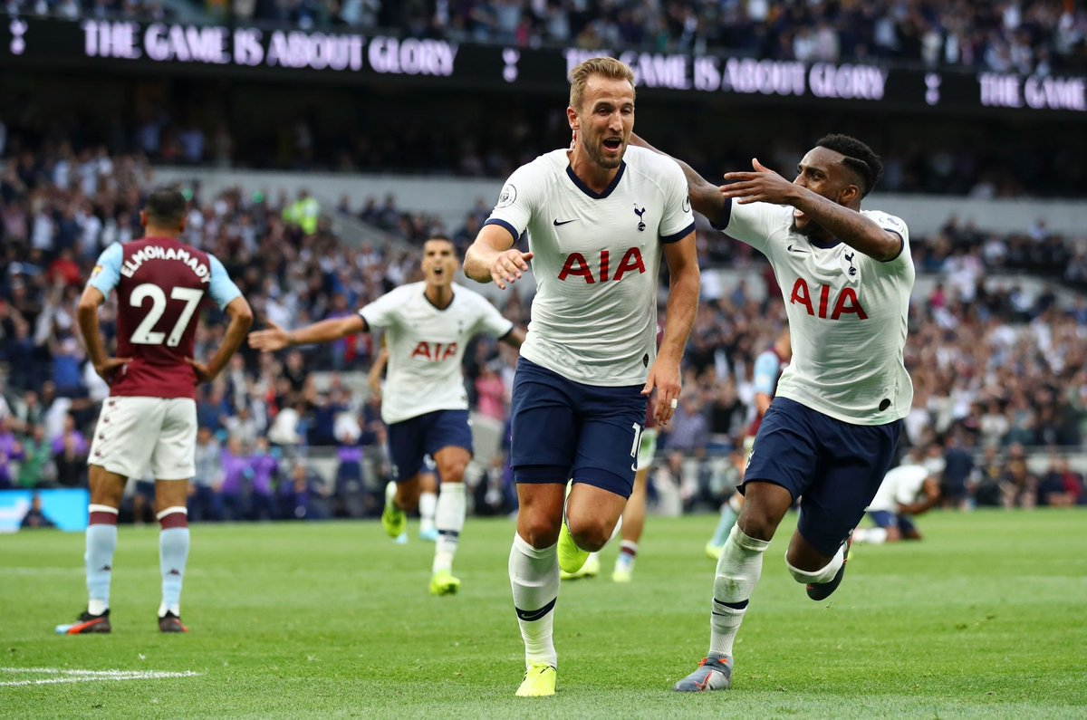 Spurs comeback to beat Aston Villa 3-1 in their opening match