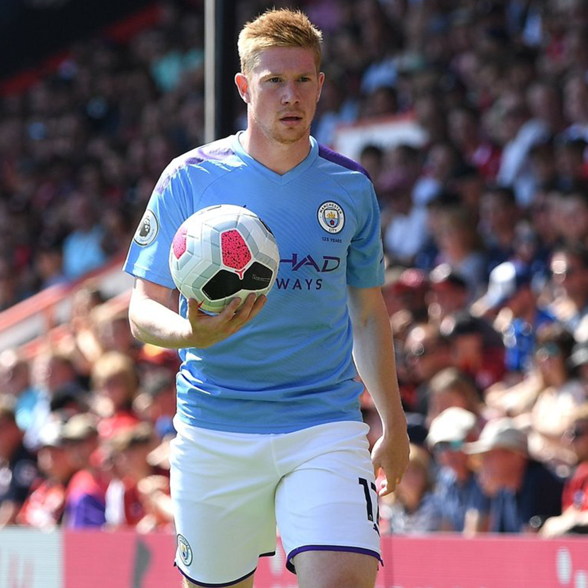 Kevin De Bruyne is now the fastest player ever to reach 50 Premier League assists