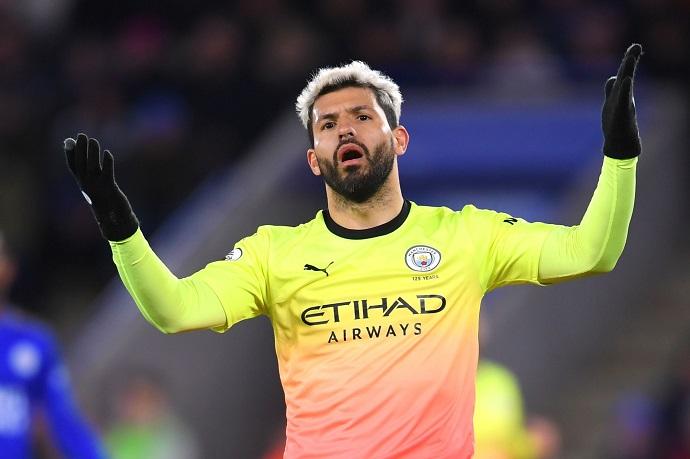 Sergio Aguero still confident of scoring a penalty despite Man City's terrible run