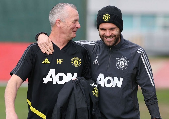 Mata has urged fans to stay calm and trust the experts