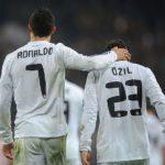 ronaldo and ozil