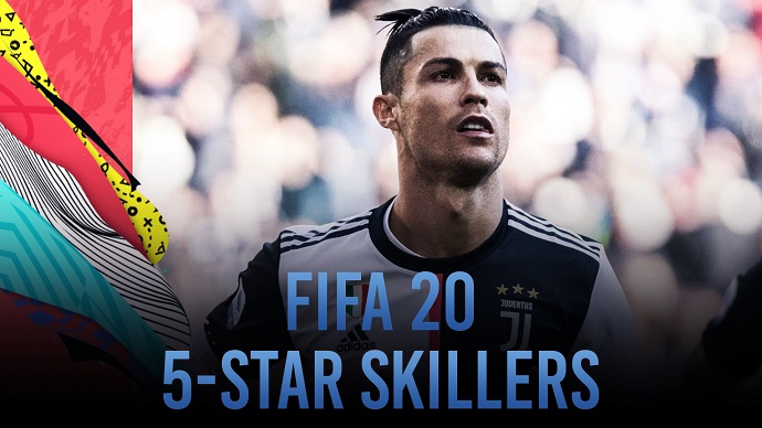 FIFA 20 | All the players with five star skill moves feat. Ronaldo