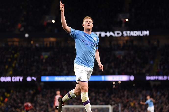 De Bruyne wants to play longer and is missing the game
