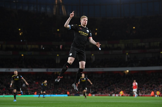 Kevin De Bruyne has called for the season to be scrapped