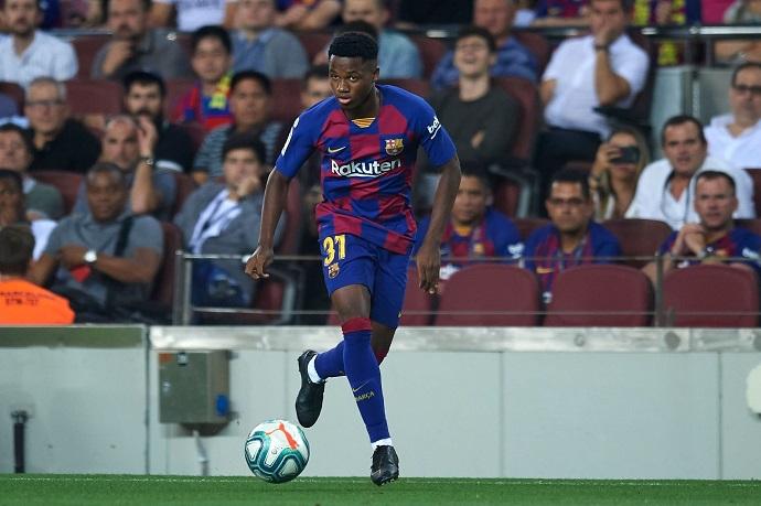Barcelona reject Manchester United's £89m bid for Ansu Fati