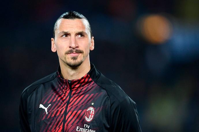 Ibarhimovic back in training for AC Milan
