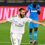 Karim Benzema breaks into the top five Real Madrid goalscorers in history.