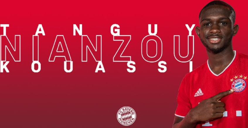 Official : Bayern Munich has signed teenage star Kouassi