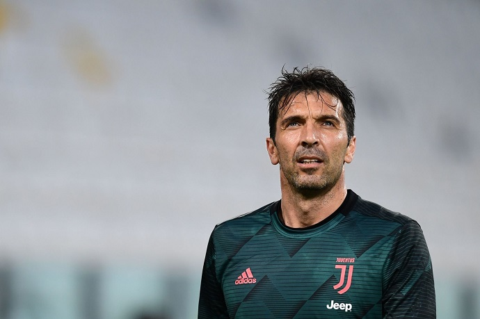 Most capped players in the Top 4 European Leagues feat. Buffon