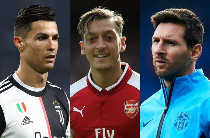 Players with most assists in the 21st century feat. Messi and Ronaldo