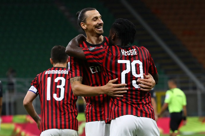 Zlatan will not stay at AC Milan if they play in Europa League