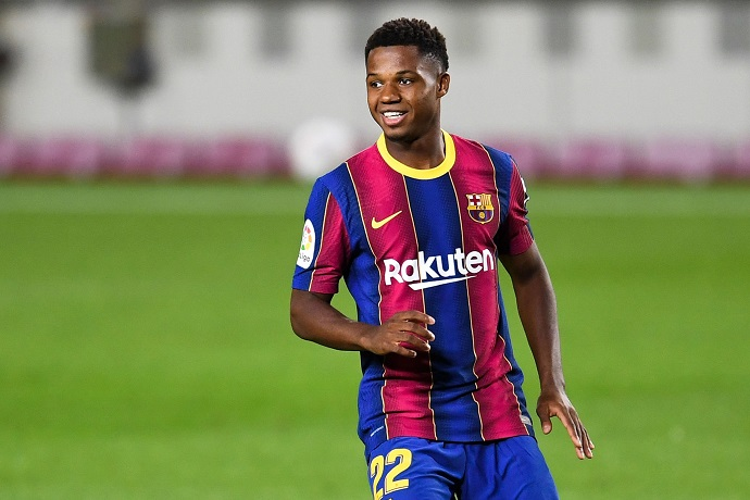 """Ansu Fati – """"Playing with Messi is a dream"""""""