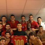 Pelé Congratulates Cristiano Ronaldo for reaching 100 international goals