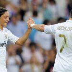Ozil has revealed his dream team featuring Cristiano Ronaldo