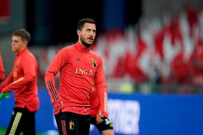 Real Madrid not happy with Hazard after Belgium saga