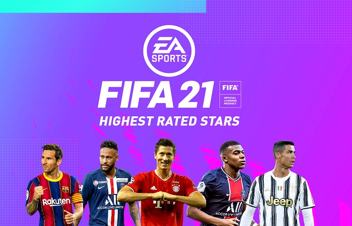 FIFA 21 Ratings Highest Rated Stars feat. Ronaldo, Messi, Neymar and more