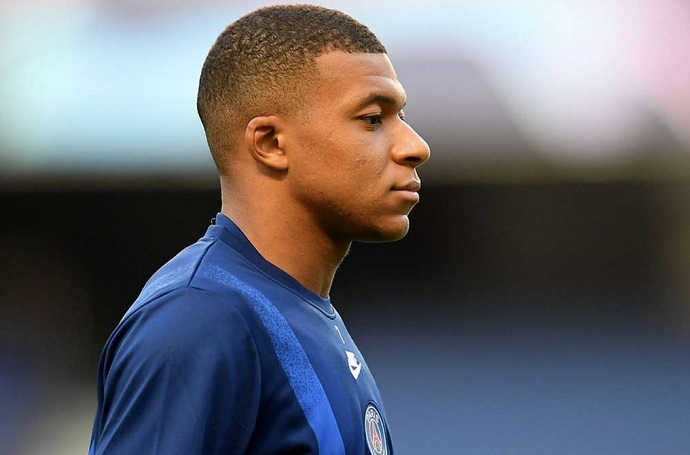 Kylian Mbappe has tested positive for Covid-19