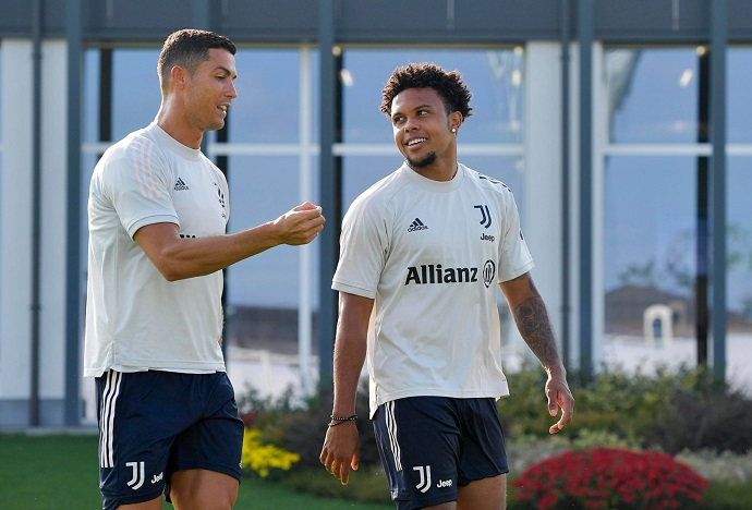 McKennie reveals his reaction on seeing Cristiano Ronaldo for the first time