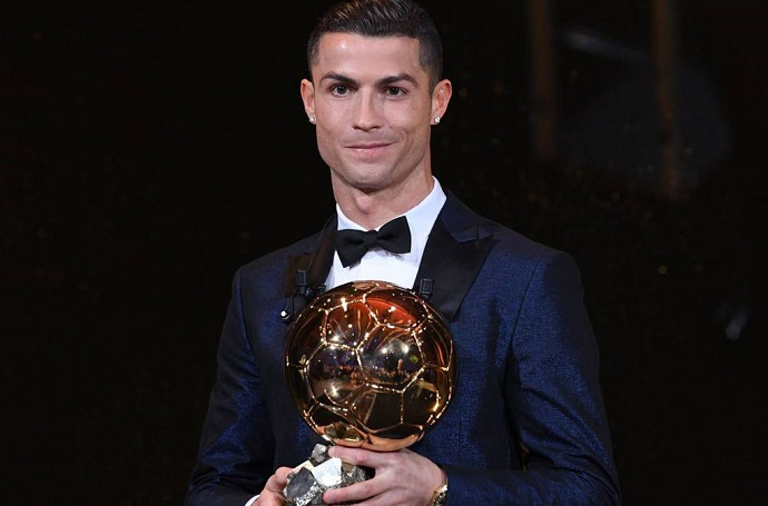 Cristiano Ronaldo tops Lionel Messi for the most Ballon d'Or points in history
