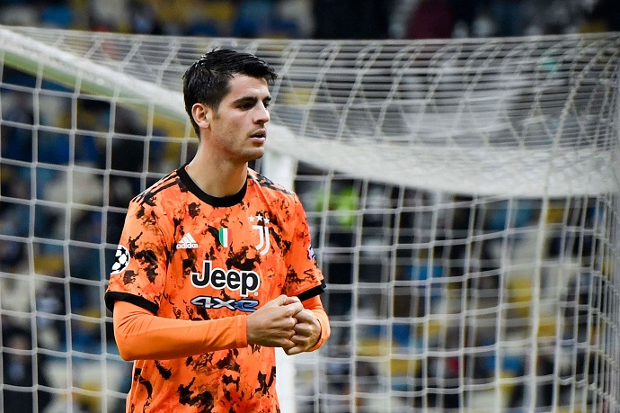 Dynamo Kyiv 0-2 Juventus | Alvaro Morata goals