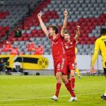 Half-Time: Bayern Munich 2-1 Borussia Dortmund | Muller, Tolisso and Brandt Goal