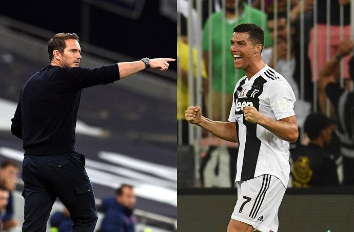 Ronaldo leads Frank Lampard's seven-a-side dream team