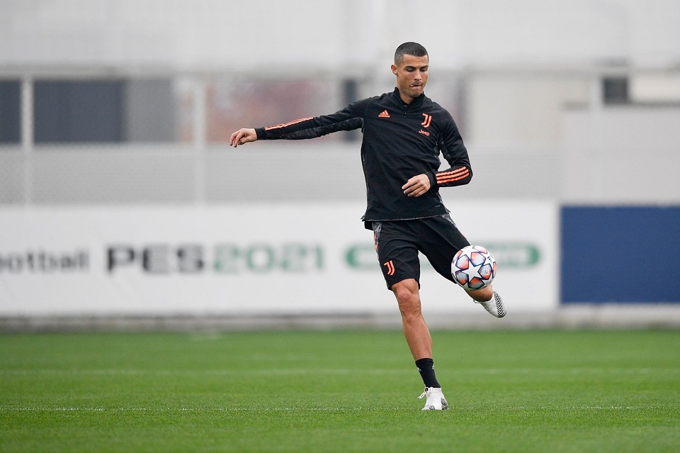 Cristiano Ronaldo Training Pictures ahead of the UCL clash against Ferencvaros
