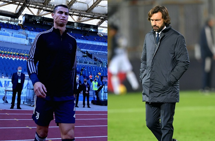 Andrea Pirlo explains the decision to rest Ronaldo after Juventus' draw