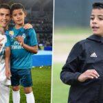 Video: Cristiano Ronaldo Jr shows off his brilliant talents