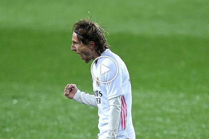 Video: Luka Modric Goal against Eibar | Eibar 0-2 Real Madrid