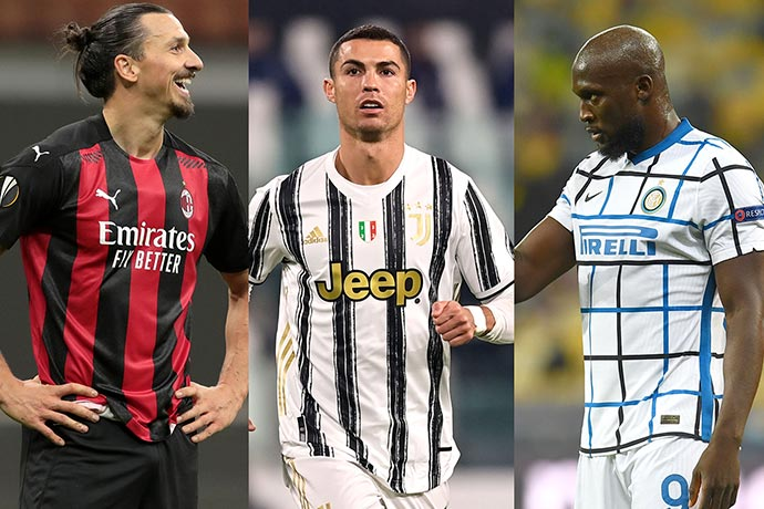 December 21 | Serie A Top Scorer 2020/21 feat. Ronaldo, Lukaku and Ibrahimovic