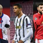 Ronaldo, Neymar, Messi and Fernandes: Champions League group stage XI