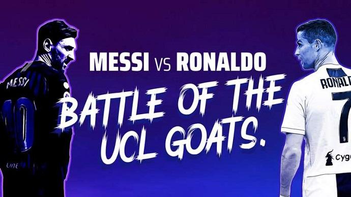 Cristiano Ronaldo vs Lionel Messi - Battle of GOATs.