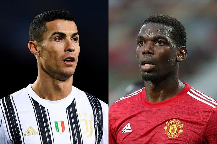 Juventus and Man Utd could swap Cristiano Ronaldo & Pogba