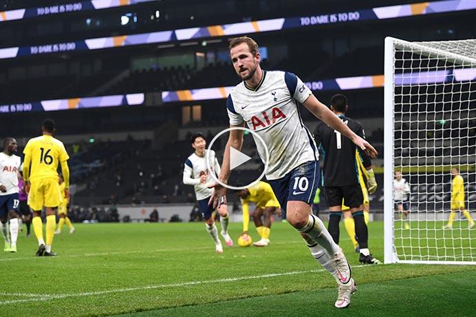 Video: Harry Kane Goal against Fulham | Spurs 1-0 Fulham