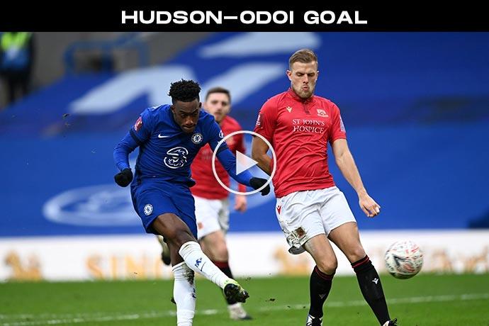Video: Hudson-Odoi Goal against Morecambe | Chelsea 3-0 Morecambe