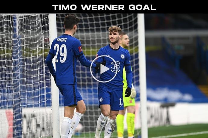 Video: Timo Werner Goal against Morecambe | Chelsea 2-0 Morecambe