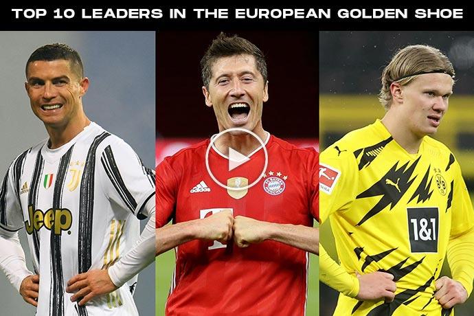 European Golden Shoe 2020/21 Rankings