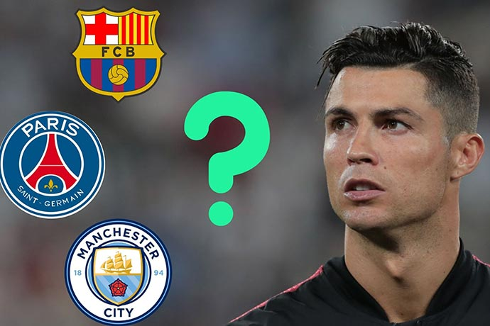 Cristiano Ronaldo's next club odds: Which of these 9 teams could sign CR7?