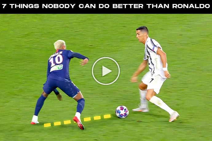 Video: 7 Things Nobody Can Do Better Than Cristiano Ronaldo