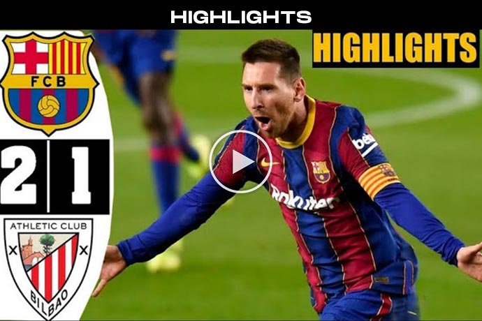 Video: Messi Show 🔥 Barcelona vs Bilbao 2-1 Highlights & All Goals