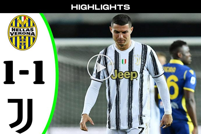 Video: Juventus vs Hellas Verona (1-1) - Highlights & All Goals 2021 HD