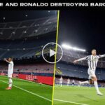 Video: Kylian Mbappe And Cristiano Ronaldo Destroyed Barcelona & Messi 2021