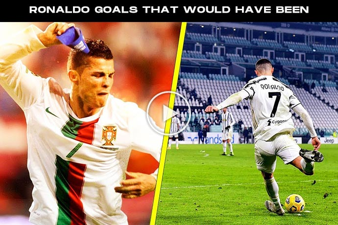 Video: 15 Minutes of Cristiano Ronaldo Goals That Would Have Been