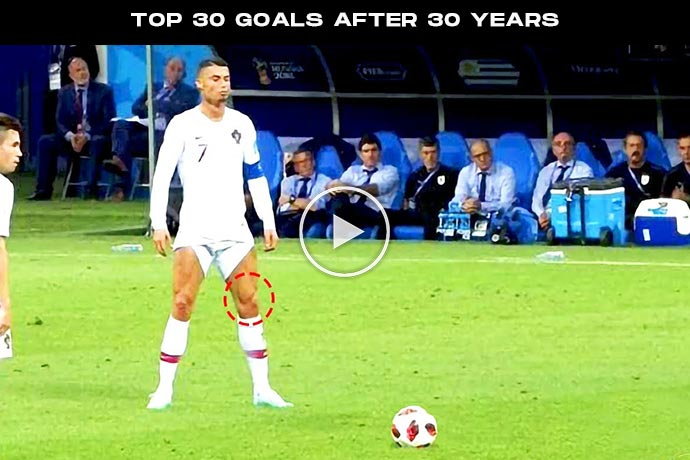 Video: Cristiano Ronaldo Top 30 Goals After 30 Years That No One Expected