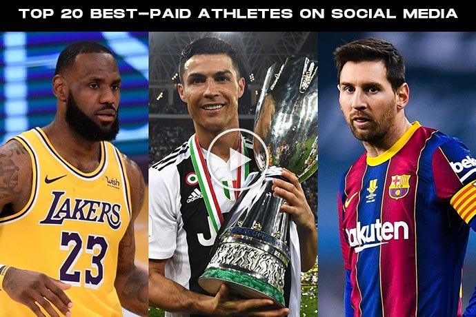 Top 20 Best-paid Sportsperson on Social Media in 2021
