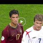 Video: The Day Cristiano Ronaldo & David Beckham met in 2006 World Cup