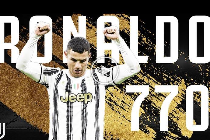 Video: Cristiano Ronaldo Scores His 770th Goal! | CR7 Juventus Goals
